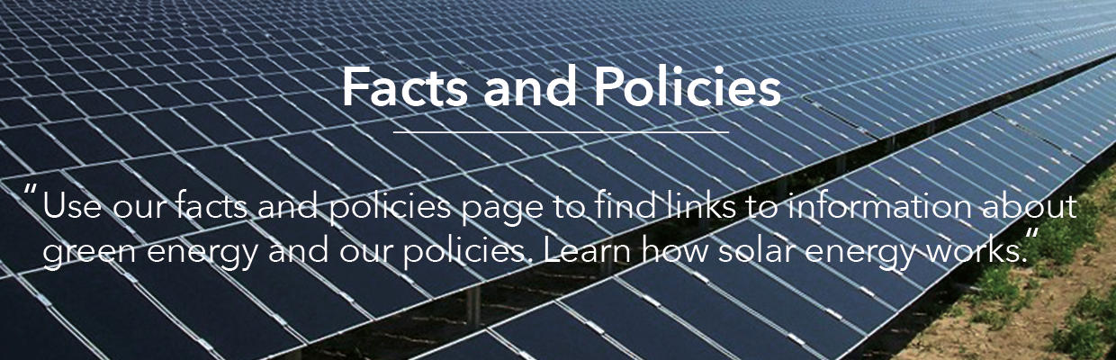 Facts and Policies | Green Energy International